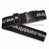 Printed Luggage Strap, Customized Designs are Welcome Manufactures
