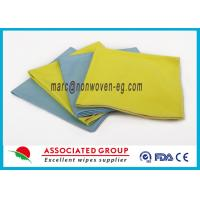 Non Woven Tool Multi Purpose Cleaning Wipes Washable Highly Absorbent Polymide For Cars Manufactures