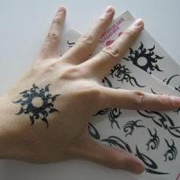 Fashion Adult Hand Tattoo Stickers Manufactures