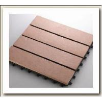 WPC Outdoor Flooring Tile/WPC DIY Tile Manufactures