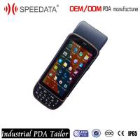 5'' Bluetooth 4G LTE  Industrial PDA Touch Screen POS Terminal Testing Wireless Receipt Scanner Manufactures