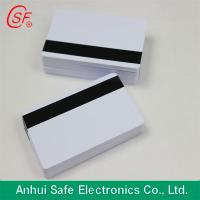 China inkjet pvc card with HICO magnetic strip on sale