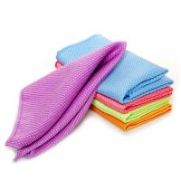 microfiber glass cleaning towel household clean cloths Manufactures