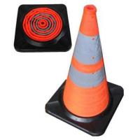 China Collapsible traffic cone(PST1002R) on sale