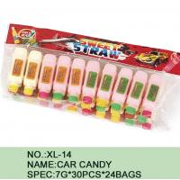 Different Color Healthy Candy Sugar Powder Novelty Car Shape Eco - Friendly Manufactures