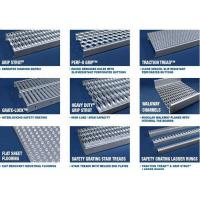 Anti Skid Galvanized Steel Stair Treads Diamond Grip Flame Retardant Manufactures