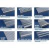 Anti Skid Galvanized Steel Stair Treads Diamond Grip Flame Retardant for sale