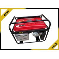 Overload Protection Gasoline Powered Generator 80 Kg , Gas Powered Portable Generator Air Cooling Manufactures