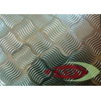 Coating Non - stick Aluminium Checker Plate , Anodized Aluminum Tread Plate Manufactures