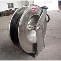 China Rust Proof Retractable Hose Reel , Automatic Water Hose Reel Safe Transportation on sale