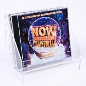 China stylish clear acrylic cd holder or acrylic cd rack on sale