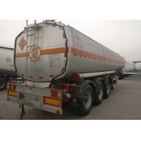 Buy cheap Tri Axles Heavy Duty Semi Trailers , Fuel Tank Trailer For Oil Transportation from wholesalers
