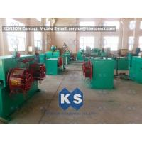 Powder PVC Coating Machine for Making PVC Coated Wire Gabion Baskets / Boxes Manufactures