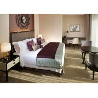 Professional Beautiful Hotel Guestroom Furniture For Holiday Inn Oak Manufactures