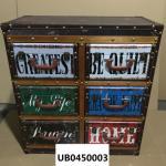 Retro Antique Furniture Old Chest Of Drawers Vintage Style Storage Chest Storage Cupboard Trinket Box Storage Cabinet Manufactures