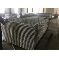 "8ftx12ft 1830mm x 2650mm tubing  1½""(38mm) cross brace temporary chain link fence mesh spacing  2¼""x2¼""(57mmx57mm) Manufactures"
