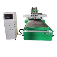 S1325 Hsd Spindle 4 Process 4x8 Woodworking CNC Machine For Furniture Manufacturing Manufactures