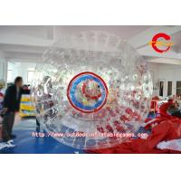 China Transparent PVC Inflatable Hamster Ball Rolling For Playing Center on sale