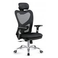 Gas Lift Fabric Home Office Chair , Commercial Staff Office Chair Long Using Life Manufactures