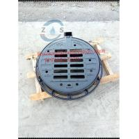 China lockable Hot sales Round ductile iron gully grate, 750x600x100mm sewage cover  EN124D400  drainage cover  hot sales on sale