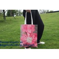 Buy cheap Full Color Custom Printed Canvas Handled Cotton Shopping Tote Bags,Factory Supply Unique Design Handled Eco Shopping Cot from wholesalers