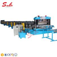 China Chain Driven Floor Deck Roll Forming Machine 0.8-1.5mm Thickness 40GP Container on sale