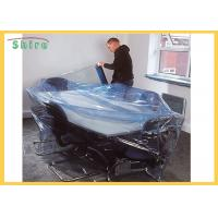 Size Customized Temporary Protective Film Clear Self Adhesive Film Anti Dust For Funiture Manufactures
