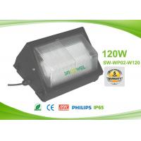 China 120 w AC90 to 295V LED Wall Pack Lights , 120lm / w wall pack lighting fixtures exterior on sale