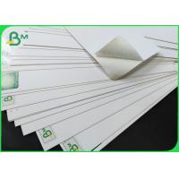 China FSC Ivory Board Fold 250 / 350gsm One Side Coated White Board Sheet on sale