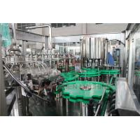 China Mango Puree Hot Juice Filling Machine Monoblock Metal Screw Cap Type on sale