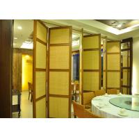 Quality Demountable Partition Folding Internal Doors  Stackable Acoustic Partitions for sale