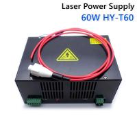 universal laser CO2 power supply 60W for laser  engraving machine HY-T60 model Manufactures