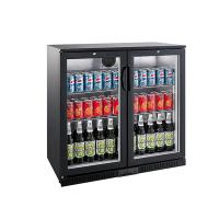 LED Lighting Back Bar Cooler 208L Capacity With High Efficiency Compressor Manufactures