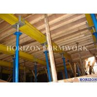 Q235 Steel Pipe Adjustable Telescopic Steel Props 3.5 M Height For Slab Formwork Manufactures