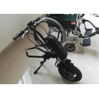 Lightweight Electric Wheelchair Conversion Kit With Display And Disk Brake for sale
