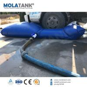 China Molatank PVC Portable folded grey water tank foldable water storage tank water bag reservoir on sale
