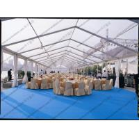 PVC Roof Cover Transparent Marquee Tent , Business Use Clear Top Marquee Inside Decoration Manufactures