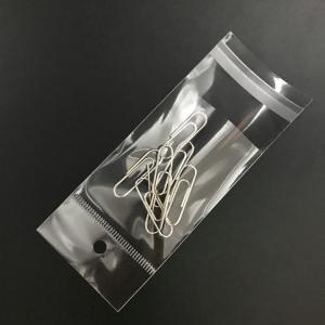 China Custom Adhesive BOPP packaging bag, BOPP pack bag Adhesive strip on sale