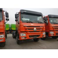 40T Sinotruk HOWO Heavy Dump Truck Chassis For Loading Construction Material Manufactures