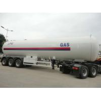 26.915 Tons LPG Tank Trailer 58100 Liters Gas Lpg Storage Tank Trailer Manufactures