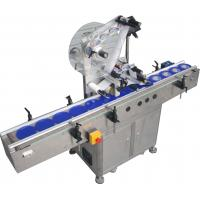 Automatic Flat Surface Label Applicator Machine,SUS304 stainless steel economy automatic top and side labelling machine Manufactures