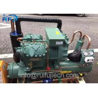 R404 Refrigeration Condensing Unit / Bitzer 6FE-50Y Water Cooled Condenser Unit Manufactures