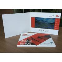 Artificial Style and Paper Material LCD video brochure card 256MB internal memory for business promotion purpose Manufactures