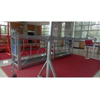 Durable and Safety Steel Rope Suspended Platform with 1000kg Counter Weight Manufactures
