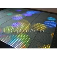 China High Resolution LED Starlit Dance Floor 144 Pixels SMD 5050 3 in 1 Aluminum Housing on sale