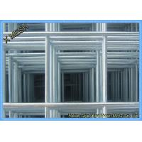 Rectangular Hole Galvanized Welded Mesh Panels / Wire Panels 2.9 X 2.0 M Size Manufactures