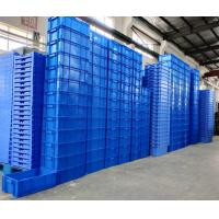 China 800*600*120 mm Virgin PP or PE Plastic Stacking Containers  /  Euro Stacking Boxes for sale