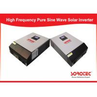 SSP3118C Cold Start Solar Power Inverters / Solar Energy Converter Built - In 60A Mppt / Pwm Manufactures