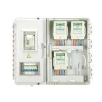 China Waterproof external electric meter box with Single Phase 4-position , ABS Base on sale