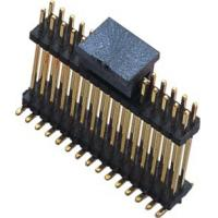 WCON SMT Dual Row Male Pin Header Connector 1.27mm Pitch Black Manufactures